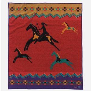 Pendleton Celebrate The Horse Wool Art Blanket